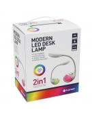 PLATINET DESK LAMP 6W + NIGHT LAMP COMPACT SIZE [43598]