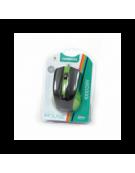 MOUSE OMEGA OM-05G OPTICAL 800-1200-1600DPI GREEN BLISTER [41788]