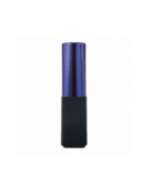 PLATINET POWER BANK LIPSTICK 2600mAh NAVY ΜΠΛΕ + καλώδιο microUSB [43637]