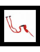 FREESTYLE SHOELACE EARPHONES + ΜΙΚΡΟΦΩΝΟ FH2112 ΚΟΚΚΙΝΟ [42780]