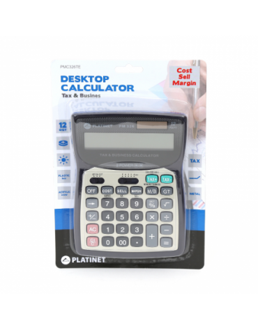 PLATINET CALCULATOR PM326TE 12 ΨΗΦΙΩΝ TAX MAR 41067