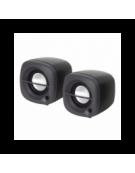 OMEGA ΗΧΕΙΑ  2.0 OG-15 6W BLACK USB [43040]