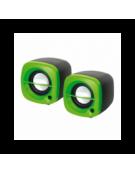 OMEGA ΗΧΕΙΑ  2.0 OG-15 6W GREEN USB [43042]