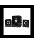 OMEGA ΗΧΕΙΑ  2.1 OG-21U SD/USB READER BLACK 2x3W + 5W SUBWOOFER [42769]