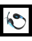 FREESTYLE HI-FI STEREO HEADSET + ΜΙΚΡΟΦΩΝΟ + ΑΝΤΑΠΤΟΡΑΣ 2-1  FH4008 ΜΠΛΕ [42676]