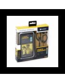 PLATINET IN-EAR EARPHONES + MIC SPORT + ARMBAND  PM1070 BLACK [42926]