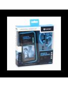 PLATINET IN-EAR EARPHONES + MIC SPORT + ARMBAND PM1070 BLUE [42927]