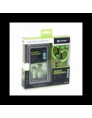 PLATINET IN-EAR EARPHONES + MIC SPORT + ARMBAND PM1070 GREEN [42928]