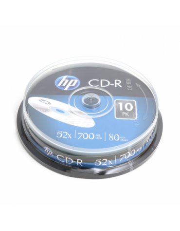 HP CD-R 700MB 52X CAKE 10 ΤΕΜΑΧΙΑ