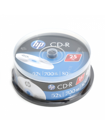 HP CD-R 700MB 52X CAKE 25 ΤΕΜΑΧΙΑ