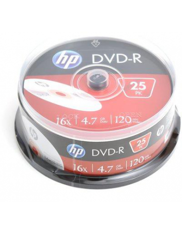 HP DVD-R 4.7GB 16X CAKE 25 ΤΕΜΑΧΙΑ