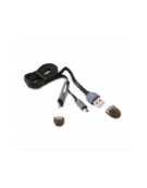 PLATINET ΚΑΛΩΔΙΟ USB UNIVERSAL  2 ΣΕ 1: MICRO USB & LIGHTNING ΣΥΝΔΕΣΗ ΜΑΥΡΟ