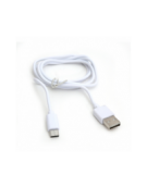 PLATINET ΚΑΛΩΔΙΟ USB TYPE-C ΣΕ USB FABRIC BRAIDED  1M ΜΑΥΡΟ