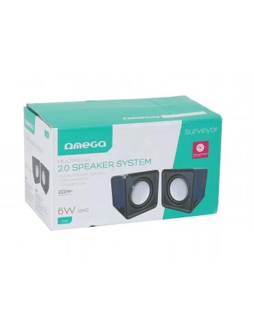 OMEGA ΗΧΕΙΑ  2.0 OG-01 SURVEYOR 6W BLACK USB [41583]